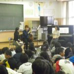仙台国際コンクールに出演した韓国の演奏家と、通訳の方にも出演いただきました。